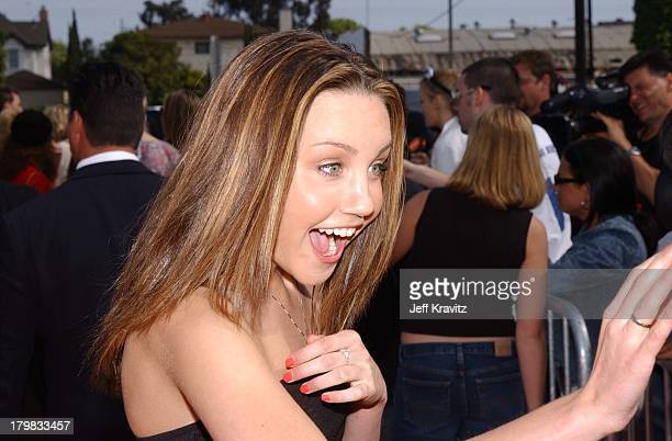Amanda Bynes during Kid's Choice Awards Arrivals in Santa Monica California United States