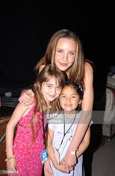 Amanda Bynes during Kid's Choice Awards Backstage in Santa Monica California United States