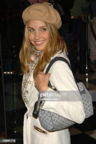 Amanda Bynes during Shall We Dance New York Premiere Outside Arrivals at Paris Theater in New York City New York United States