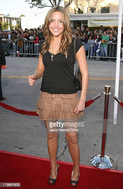 Amanda Bynes during 'The Break Up' Los Angeles Premiere Arrivals at Mann Village Theatre in Westwood California United States