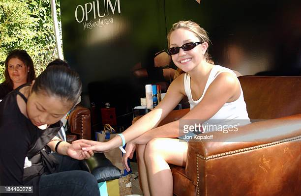 Amanda Bynes during The Silver Spoon Beauty Buffet Sponsored By Allure at Private Residence in Hollywood California United States