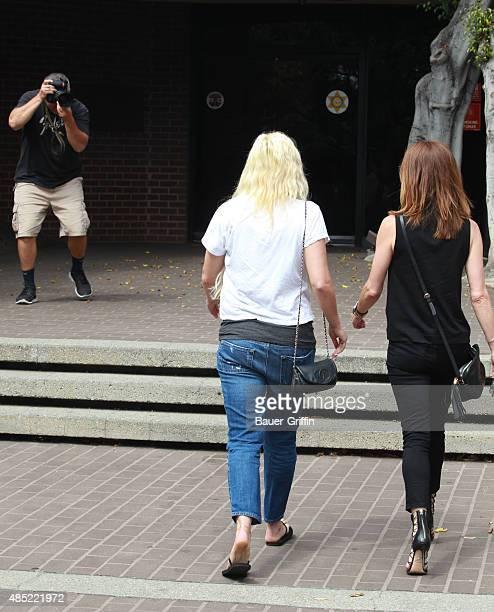 Amanda Bynes is seen on August 25 2015 in Los Angeles California