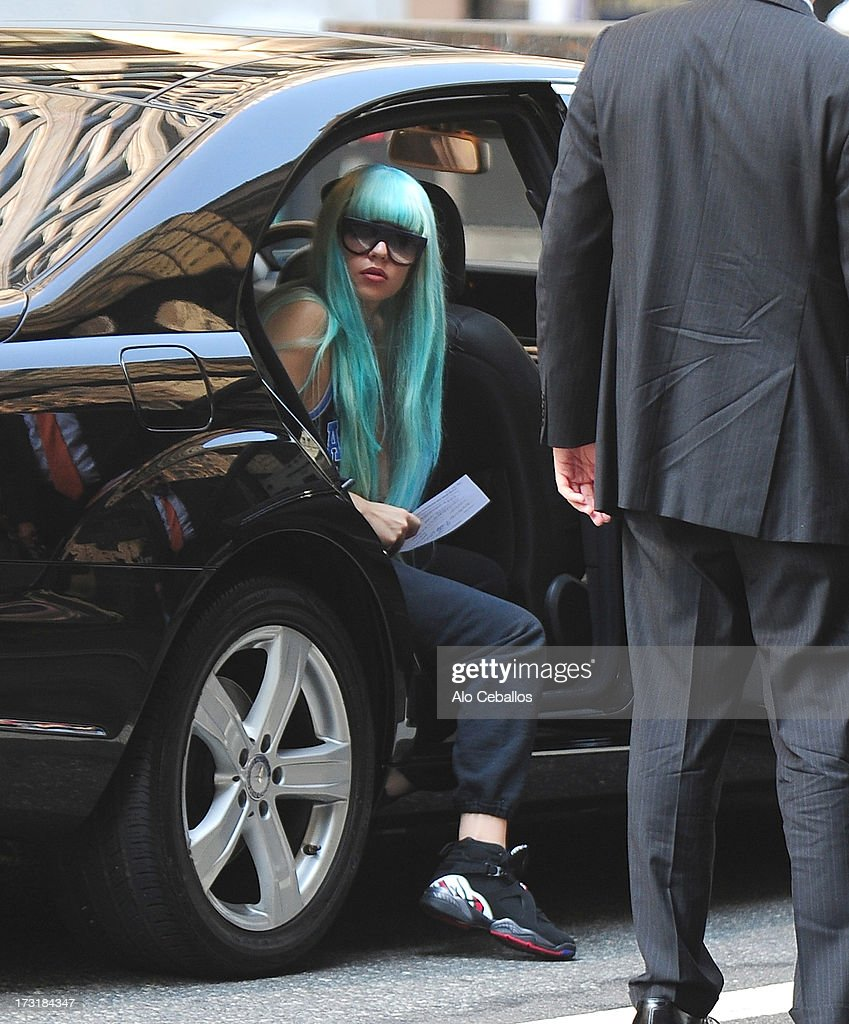 Amanda Bynes sighted on July 9, 2013 in Midtown, New York City. Bynes earlier appeared at Manhattan Criminal Court to face charges of reckless endangerment, tampering with evidence and criminal possession of marijuana in relation to her arrest on May 23, 2013.