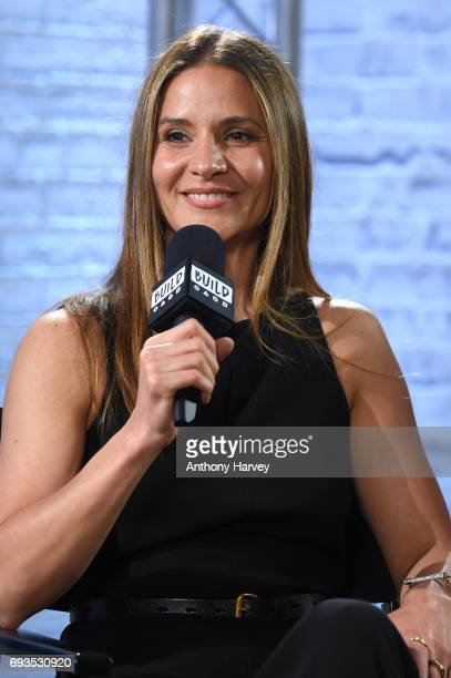 Amanda Byram at the Build LDN event at AOL London on June 7 2017 in London England