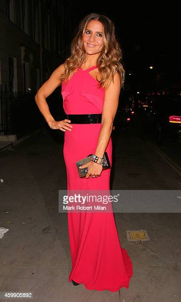 Amanda Byram attending the Cosmopolitan Ultimate Women Of The Year Awards on December 3 2014 in London England