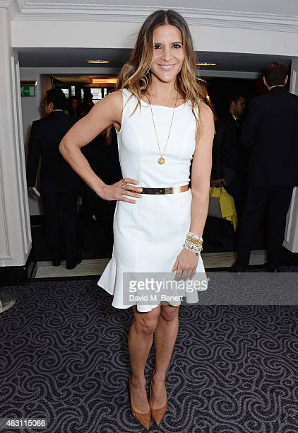 Amanda Byram attends a gastronomic Mexican lunch prepared by 6 of the country's finest chefs to celebrate the Year of Mexico in the UK hosted by the...