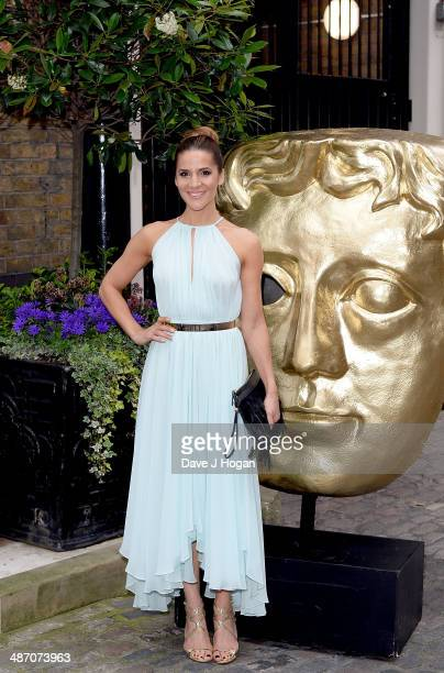 Amanda Byram attends the BAFTA Television Craft Awards 2014 at The Brewery on April 27 2014 in London England