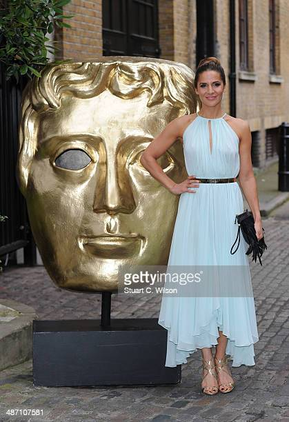 Amanda Byram attends the BAFTA Television Craft Awards at The Brewery on April 27 2014 in London England