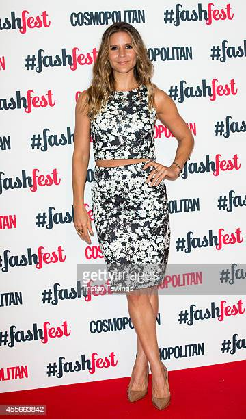 Amanda Byram attends the Cosmopolitan #FashFest event at Battersea Evolution on September 18 2014 in London England