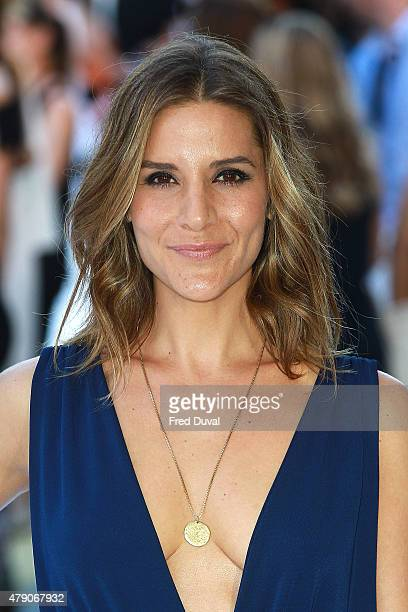 Amanda Byram attends the European Premiere of 'Magic Mike XXL' at Vue West End on June 30 2015 in London England