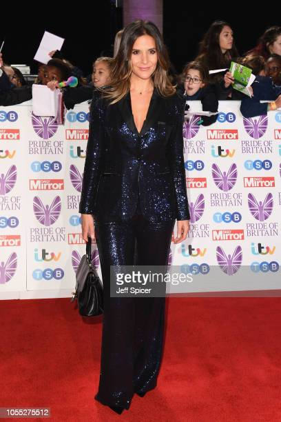 Amanda Byram attends the Pride of Britain Awards 2018 at The Grosvenor House Hotel on October 29 2018 in London England