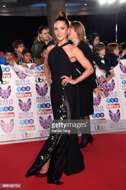 Amanda Byram attends the Pride Of Britain Awards at the Grosvenor House on October 30 2017 in London England