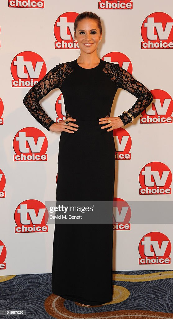Amanda Byram attends the TV Choice Awards 2014 at the London Hilton on September 8, 2014 in London, England.