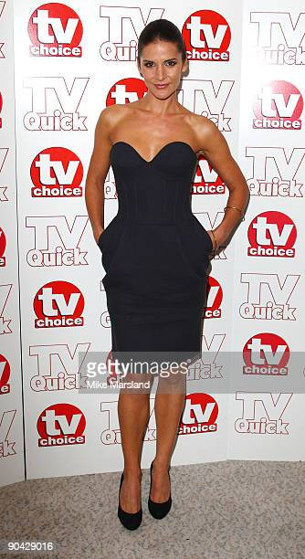 Amanda Byram attends the TV Quick Tv Choice Awards at The Dorchester on September 7 2009 in London England