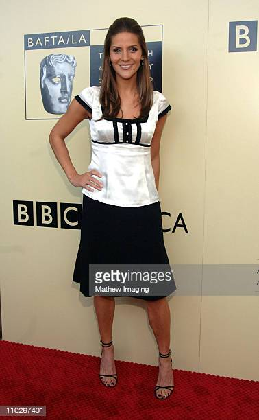 Amanda Byram during 3rd Annual BAFTA Tea Party Honoring Emmy Nominees Arrivals at Park Hyatt in Century City California United States