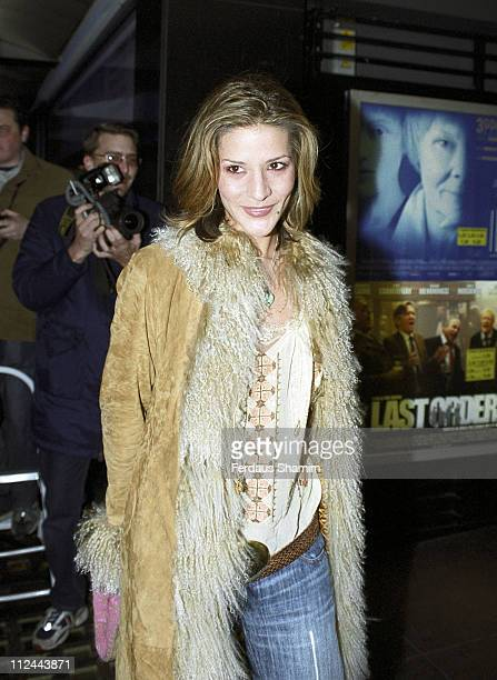 Amanda Byram during Bloody Sunday London Premiere at Leicester Square in London Great Britain
