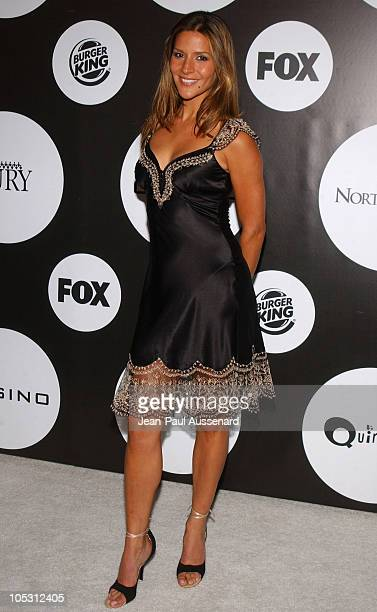 Amanda Byram during FOX New Season Launch Party at 2030 Barnard Way in Santa Monica California United States