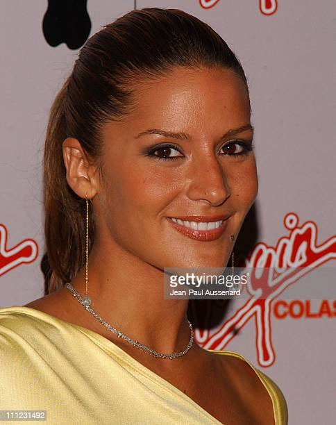 Amanda Byram during Virgin Cola at the Post MTV Movie Awards Party Arrivals at Fame in Hollywood California