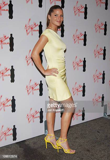 Amanda Byram during Virgin Cola's MTV Movie Awards After Party at Fame @ Xes in Hollywood California United States
