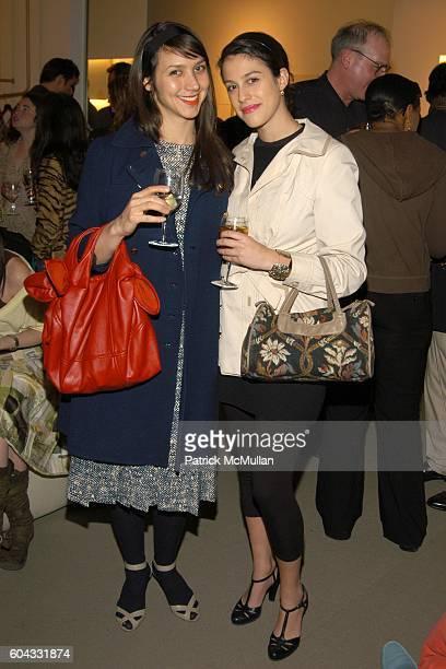 Amanda Carter and Abbey Drucker attend SALVATORE FERRAGAMO Hosts the Launch Party for the 11th Annual GEN ART Film Festival at Salvatore Ferragamo on...