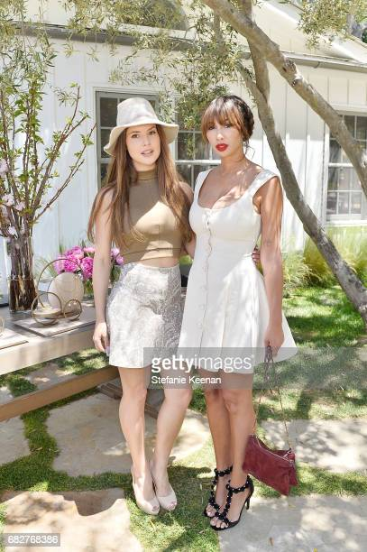 Amanda Cerny and Jackie Cruz attend Cindy Crawford and Kaia Gerber host Best Buddies Mother's Day Brunch in Malibu CA sponsored by David Yurman on...