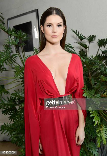 Amanda Cerny at the 2017 Streamy Awards at The Beverly Hilton Hotel on September 26 2017 in Beverly Hills California