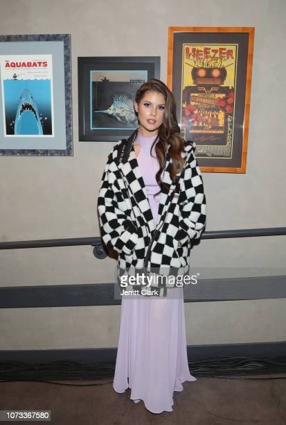 Amanda Cerny attends the WANTED Series presented by MWP Entertainment Group featuring HER at The Novo by Microsoft on December 14 2018 in Los Angeles...
