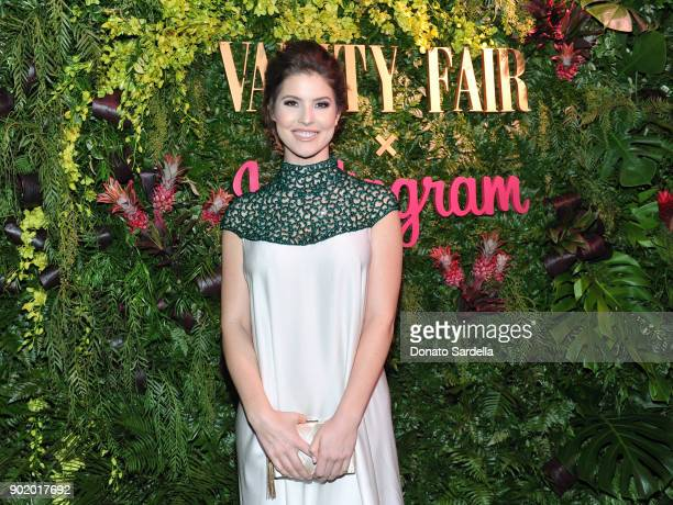 Amanda Cerny attends Vanity Fair x Instagram Celebrate the New Class of Entertainers at Mel's Diner on Golden Globes Weekend at Mel's Diner on...
