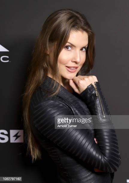Amanda Cerny CoFounder Zeus Network attends the ZEUS New Series Premiere Party X CIROC Black Raspberry on October 19 2018 in Burbank California
