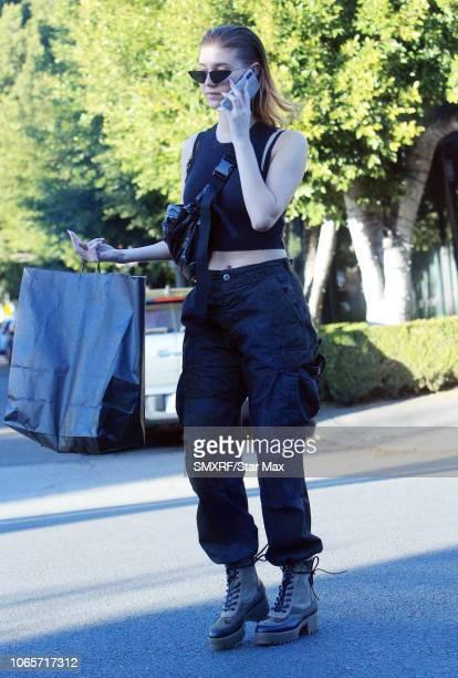 Amanda Cerny is seen on November 26 2018 in Los Angeles CA