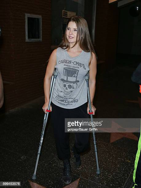 Amanda Cerny is seen on September 04 2016 in Los Angeles California
