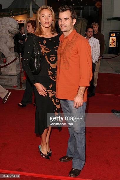 Amanda Church and Jeff Gordon during World Premiere of 'Identity' at Grauman's Chinese Theatre in Hollywood California United States