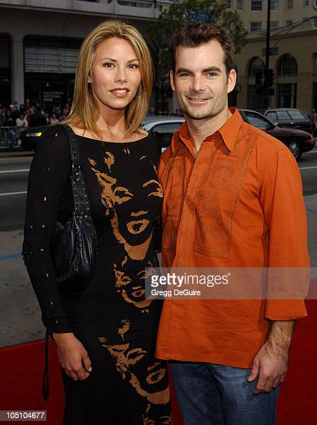 Amanda Church Jeff Gordon during 'Identity' Premiere at Grauman's Chinese Theatre in Hollywood California United States