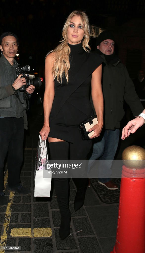 Amanda Clapham attend the Inside Soap Awards held at The Hippodrome on November 6, 2017 in London, England.