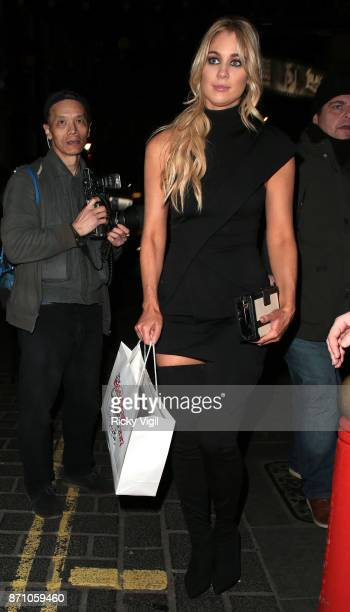 Amanda Clapham attend the Inside Soap Awards held at The Hippodrome on November 6 2017 in London England