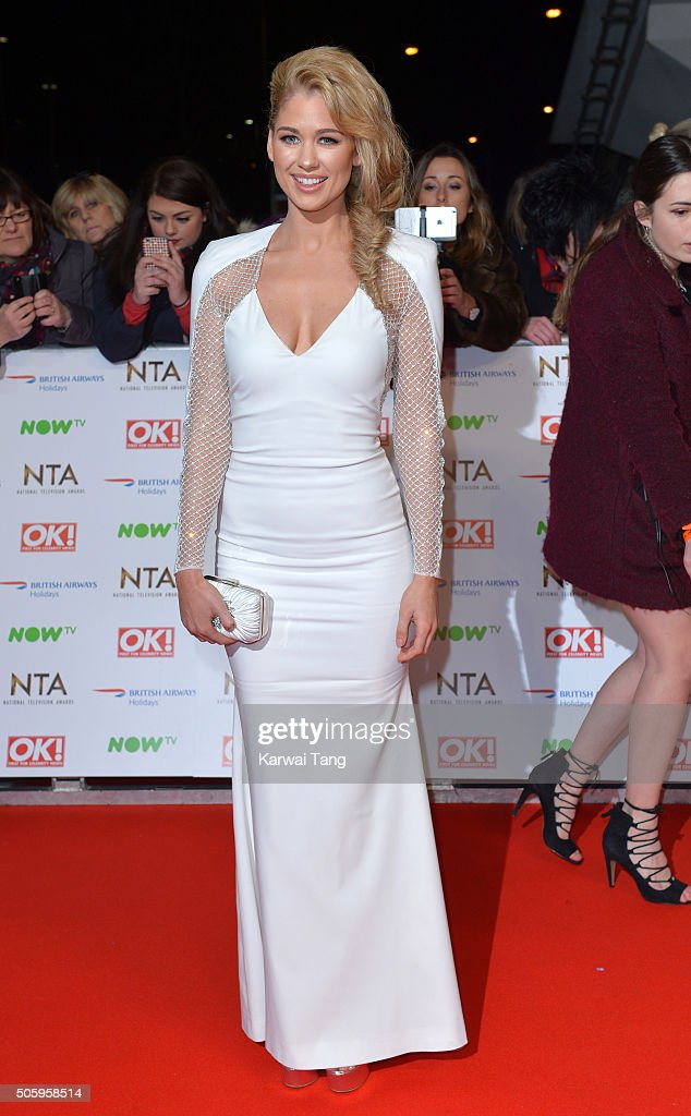 Amanda Clapham attends the 21st National Television Awards at The O2 Arena on January 20, 2016 in London, England.