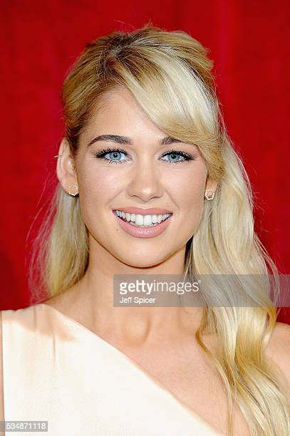 Amanda Clapham attends the British Soap Awards 2016 at Hackney Empire on May 28 2016 in London England