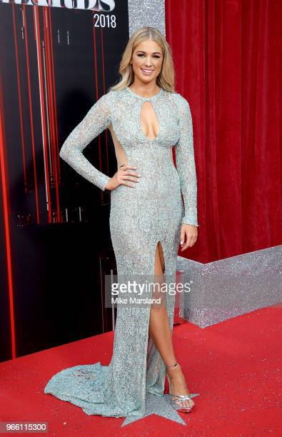 Amanda Clapham attends the British Soap Awards 2018 at Hackney Empire on June 2 2018 in London England