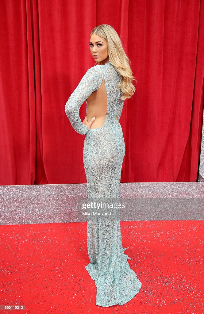 Amanda Clapham attends the British Soap Awards 2018 at Hackney Empire on June 2, 2018 in London, England.