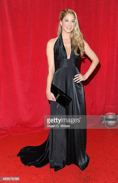 Amanda Clapham attends the British Soap Awards at Hackney Empire on May 24 2014 in London England