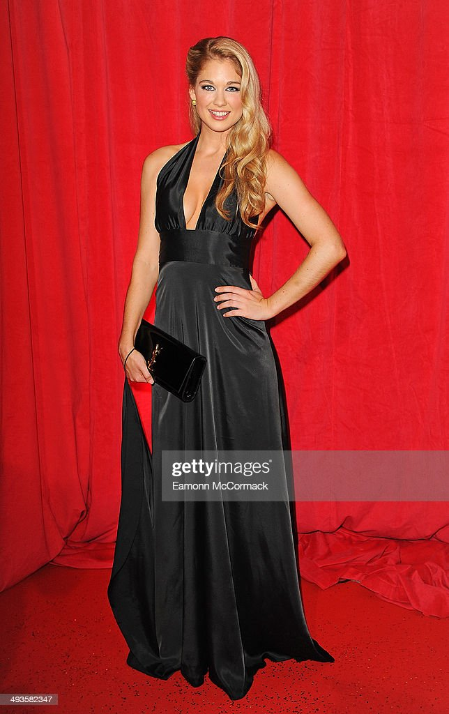 Amanda Clapham attends the British Soap Awards at Hackney Empire on May 24, 2014 in London, England.