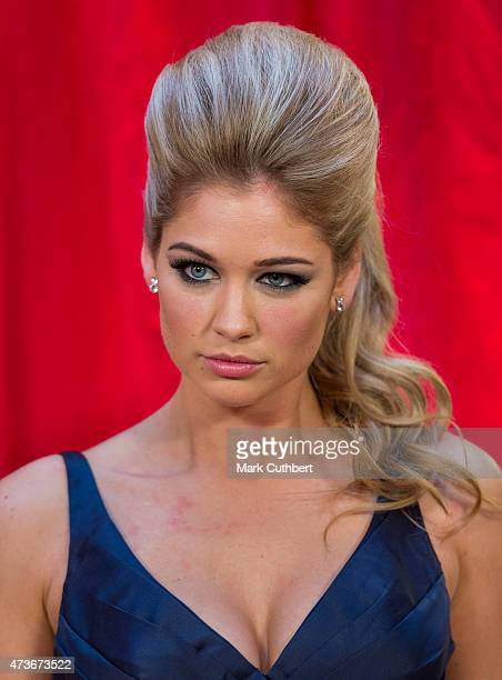 Amanda Clapham attends the British Soap Awards at Manchester Palace Theatre on May 16 2015 in Manchester England
