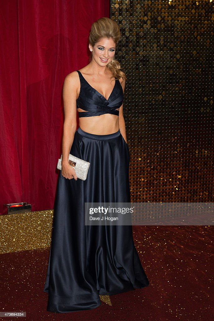 Amanda Clapham attends the British Soap Awards at Manchester Palace Theatre on May 16, 2015 in Manchester, England.
