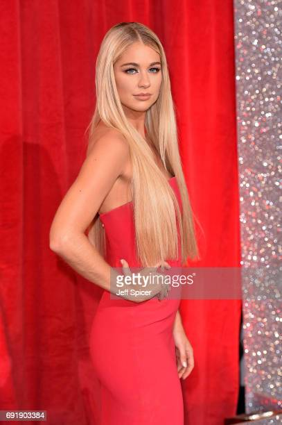 Amanda Clapham attends The British Soap Awards at The Lowry Theatre on June 3 2017 in Manchester England The Soap Awards will be aired on June 6 on...