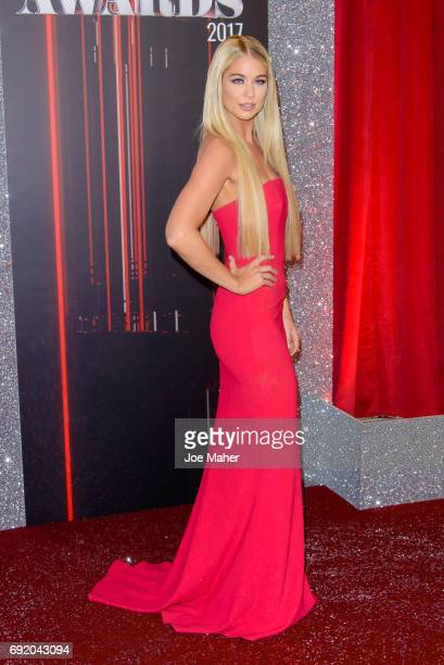 Amanda Clapham attends the British Soap Awards at The Lowry Theatre on June 3 2017 in Manchester England
