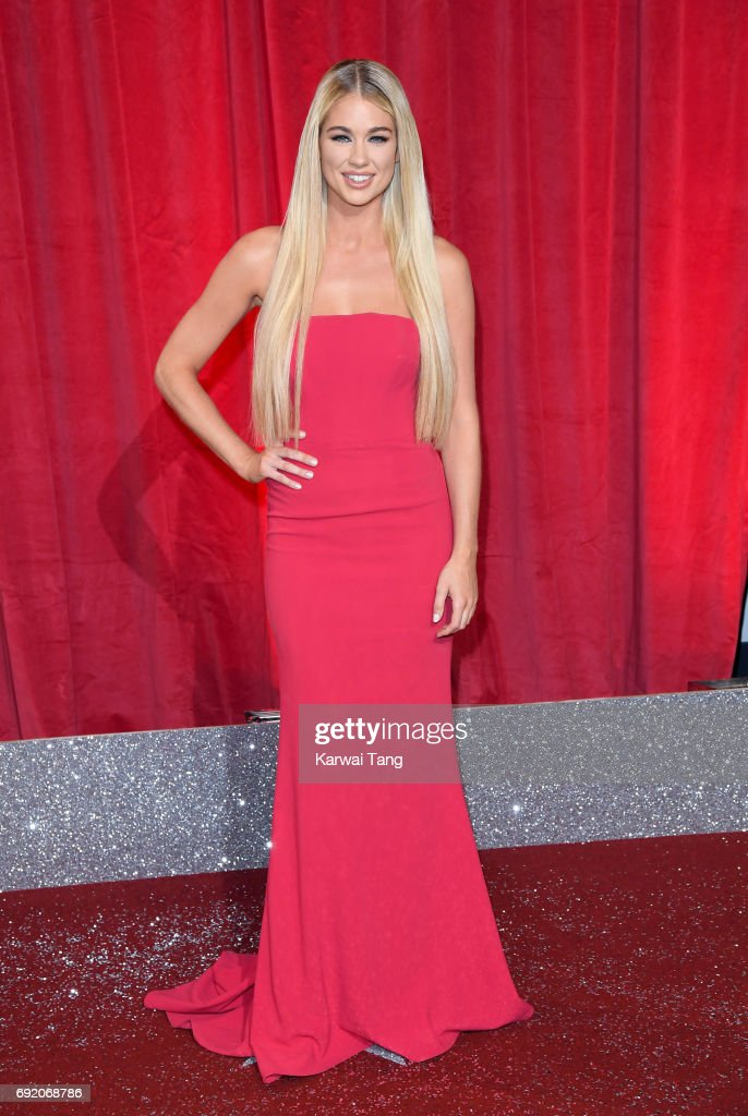 Amanda Clapham attends the British Soap Awards at The Lowry Theatre on June 3, 2017 in Manchester, England.
