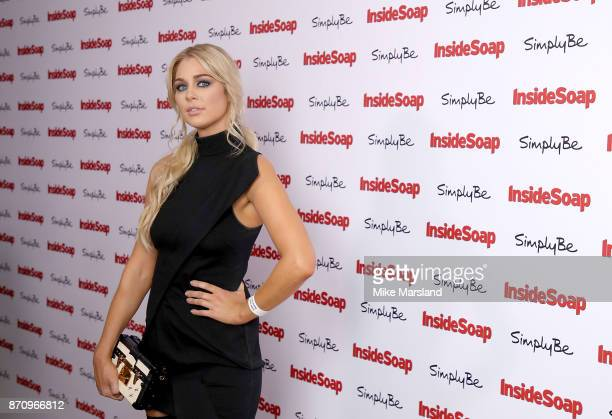 Amanda Clapham attends the Inside Soap Awards held at The Hippodrome on November 6 2017 in London England