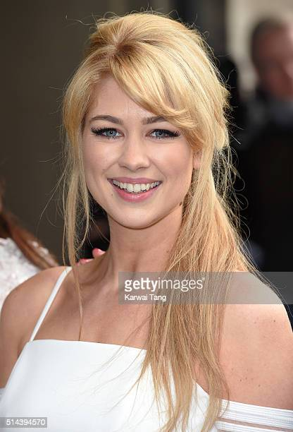 Amanda Clapham attends the TRIC Awards 2016 at Grosvenor House Hotel at The Grosvenor House Hotel on March 8 2016 in London England