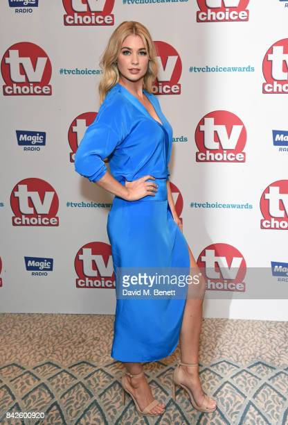 Amanda Clapham attends the TV Choice Awards at The Dorchester on September 4 2017 in London England