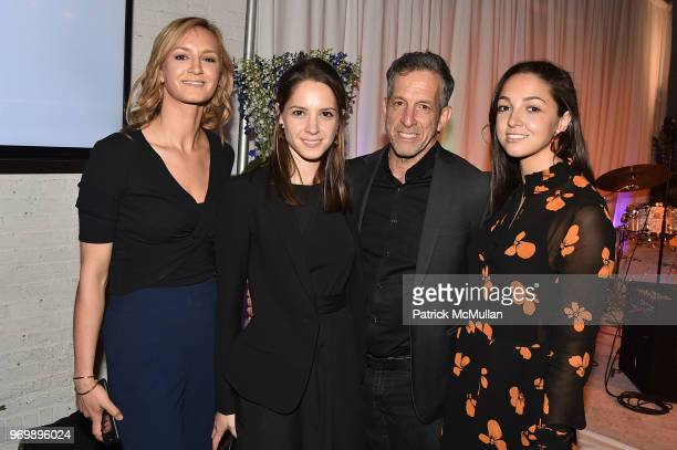 Amanda Cole Emily Cole Kenneth Cole and Katie Cole attend the HELP USA Heroes Awards Gala at the Garage on June 4 2018 in New York City